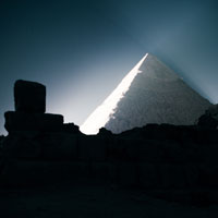 Пирамида Хеопса, после восхождения