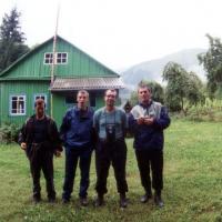 кордон Пслух, 1 день похода по Западному Кавказу