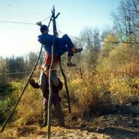 Марий Эл, октябрь 1996, пешеходная 1 к.с.