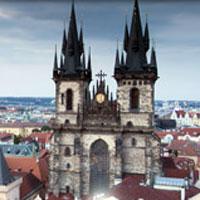 Прага, отель 4 звезды Andel's