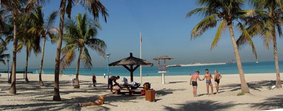 Платный пляж Джумейра, Дубаи, ОАЭ