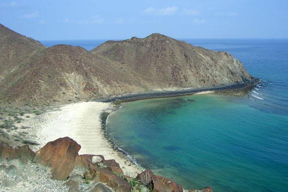 Песчаный пляж, Оман