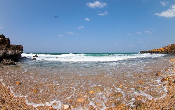 Романтическое путешествие, Оман, отлив