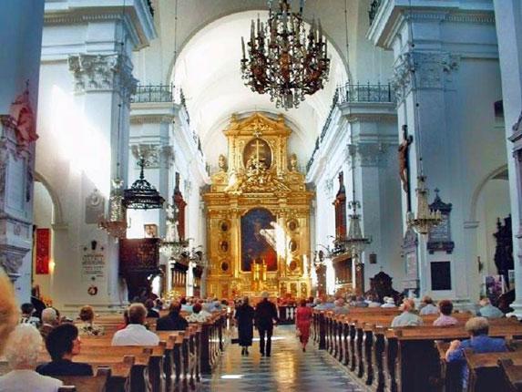 Паломничество в Италию, церковь Животворящего Креста Господня
