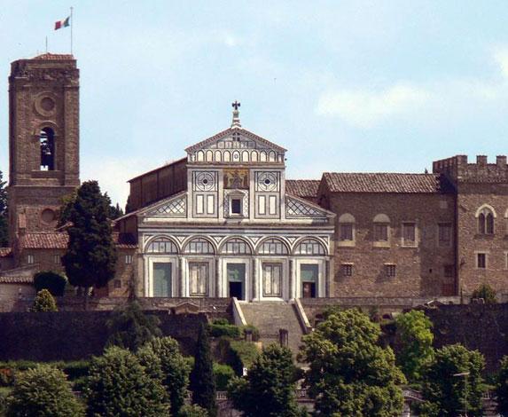 Паломничество в Италию, храм Сан-Миньято во Флоренции