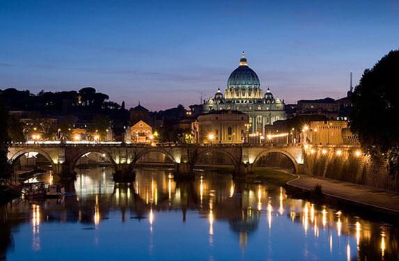 Романтическое путешествие, Рим