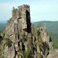 Южный Урал, характеристика вершин