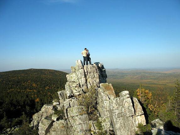 Южный Урал, Юрма, на вершине