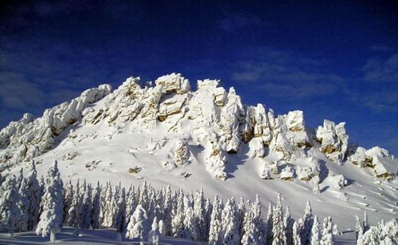 Южный Урал, Откликной гребень весь в снегу