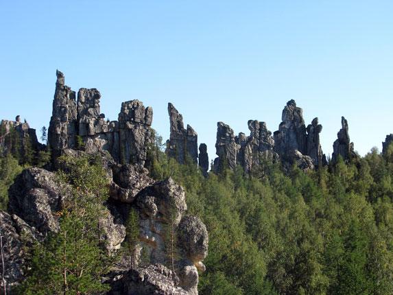 Южный Урал, Инзерсские зубчатки
