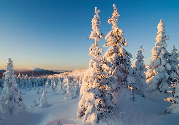 Южный Урал, летопись лыжного похода 3 к.с.