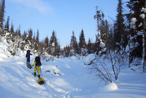Спортивный туризм, лыжный поход, Хибины
