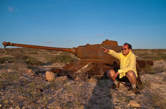 Танк Т-34, остров Сокотра, Наполеон