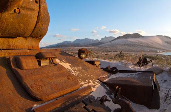 Танк Т-34, остров Сокотра, броня танка