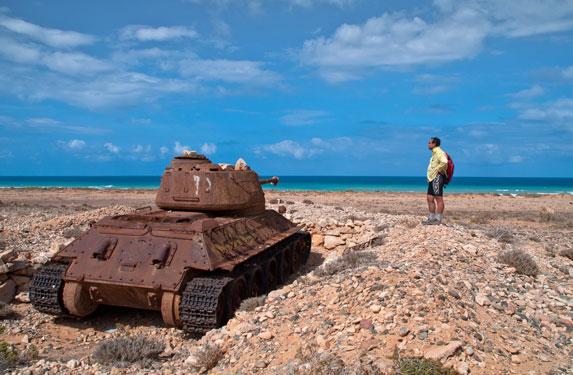 Танк Т-34, остров Сокотра, изучаем танк
