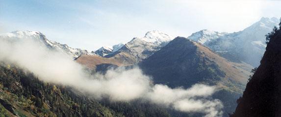 Спортивный туризм – это философия жизни, туман в горах
