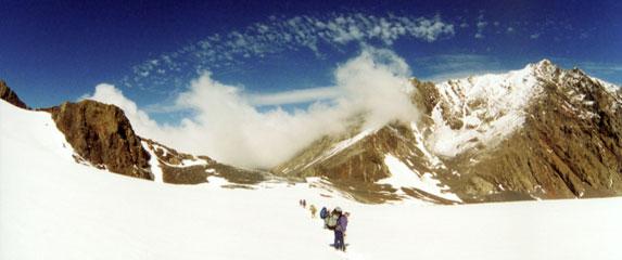 Спортивный туризм – это философия жизни, движение по леднику