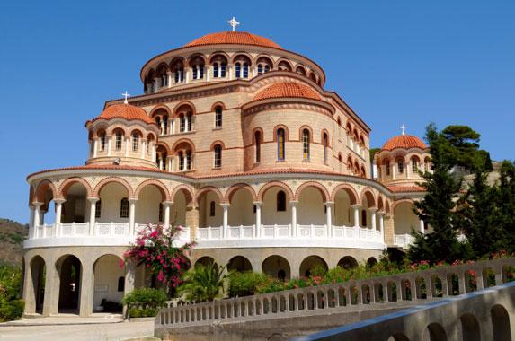 Православная Греция, монастырь святого Нектария