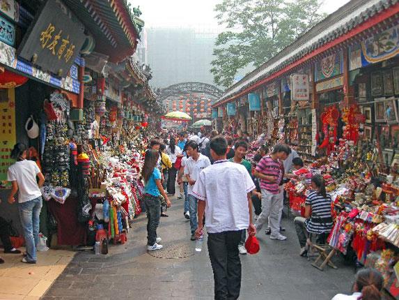 Покупки в Китае, рынок