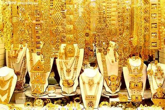 Шопинг в Дубаи, золотой рынок