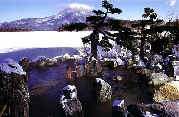 Онсен – японский термальный курорт