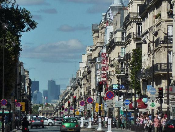 шопинг в Париже, улица Риволи