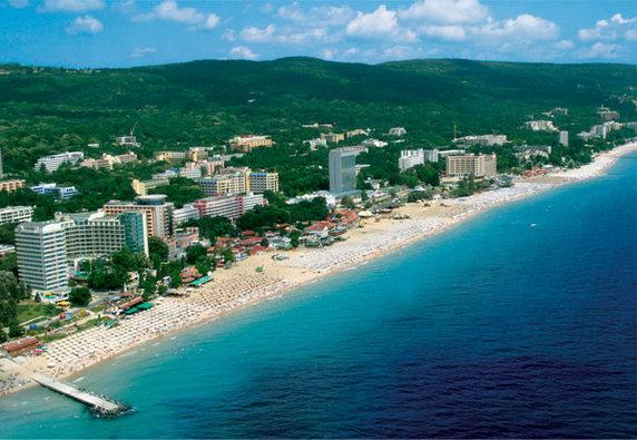 Бальнеоклиматический курорт Золотые пески в Варне (Болгария)