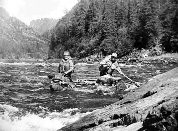 История туризма в СССР, водный туризм