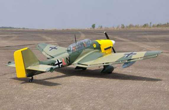 Авиационный туризм, JUNKERS-JU-87-STUKA