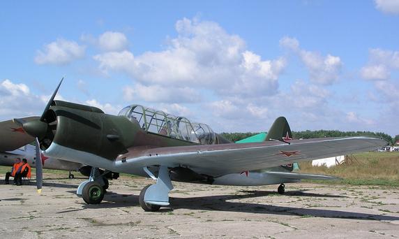 Авиационный туризм, штурмовик Су-2