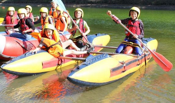 Водный туризм, палаточный лагерь