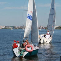 Испытание штилем или парусная регата «Volga Open Race 2012»