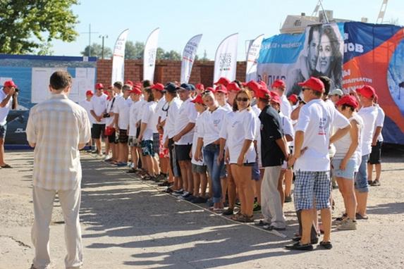 Парусная регата «Volga Open Race 2012», открытие