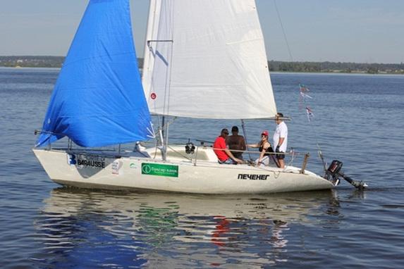 Парусная регата «Volga Open Race 2012», яхта Печенег