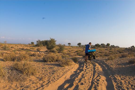 Оман, велопутешествие, типа оазис :)