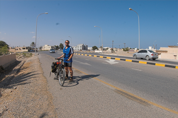 Оман, велопутешествие, город Барка