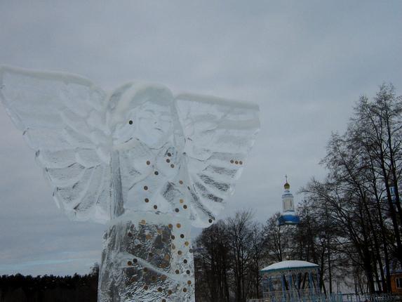 Раифа, Казань, ангел