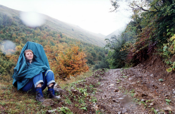 Дорога к перевалу Аишка (н/к), Западный Кавказ