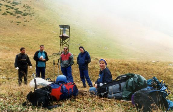 На перевале Аишка (н/к), Западный Кавказ