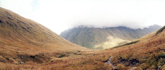 Седловина перевала Аишка (н/к), Западный Кавказ