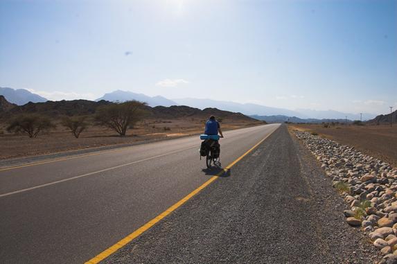 Оман, дорога на город Рустаг (Ar Rustag)