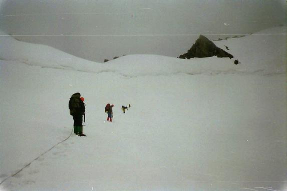 Ц. Алтай, Подъем на перевал Менбулак 1Б