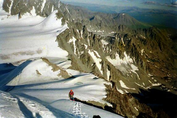 Ц. Алтай, Восхождение на гору Ольга Восточная 2А