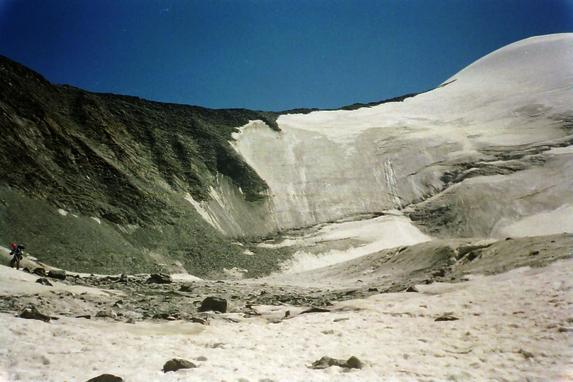 Ц. Алтай, Перевал Талдуринский 1Б, вид из долины р. Оштуайры