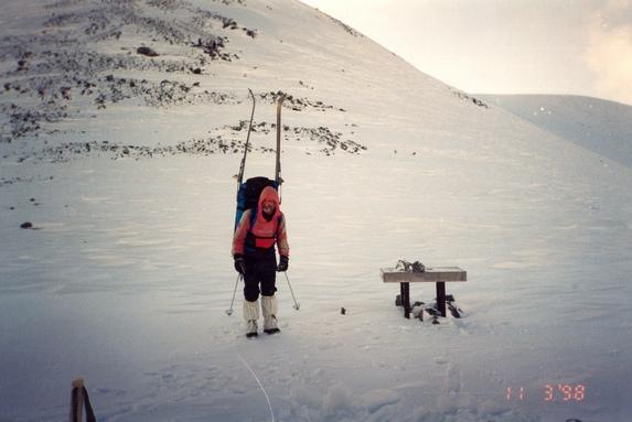 Хибины, На перевале Южный Рисчорр.