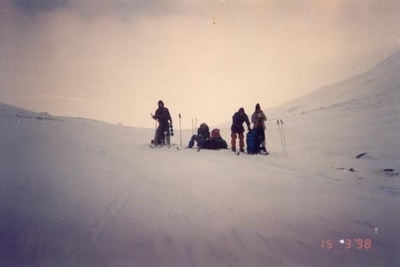 Хибины, На перевале.