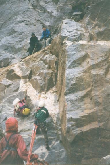 Северный Кавказ, Подъем на перевал Студенческий (1Б, 3630 м).