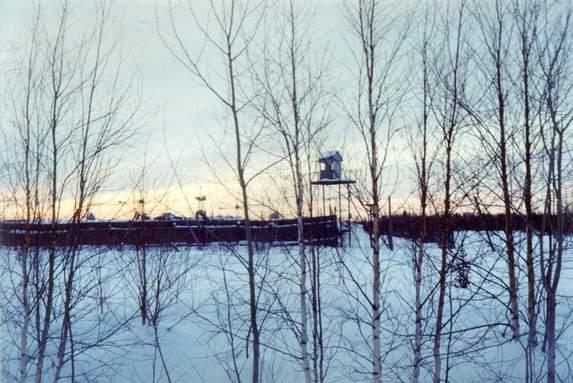 Приполярный Урал, Бывшая колония «Тройка» в районе станции Сыня.