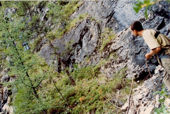 Восточные Саяны, Каньон 2Б в устье реки Дубе-Гол.