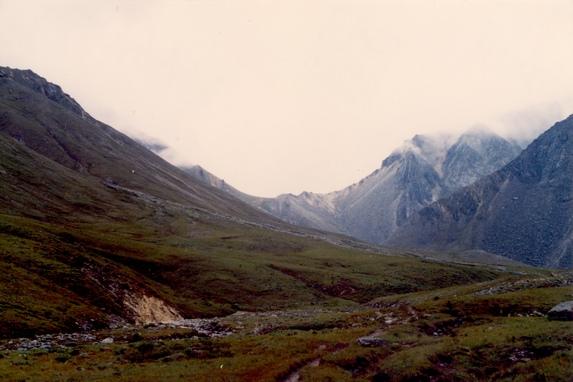 Восточные Саяны, перевал Шумак (1А, 2750 м).